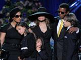 迈克尔杰克逊去世 悼念会现场