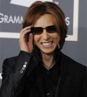 第53届格莱美 X JAPAN队长Yoshiki亮相